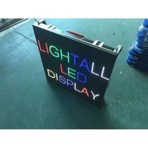Image 4 - 500 × 500 ミリメートル屋内 rgb led 表示画面レンタル p3.91 屋内ダイカストアルミキャビネット広告ビデオウォール led スクリーン