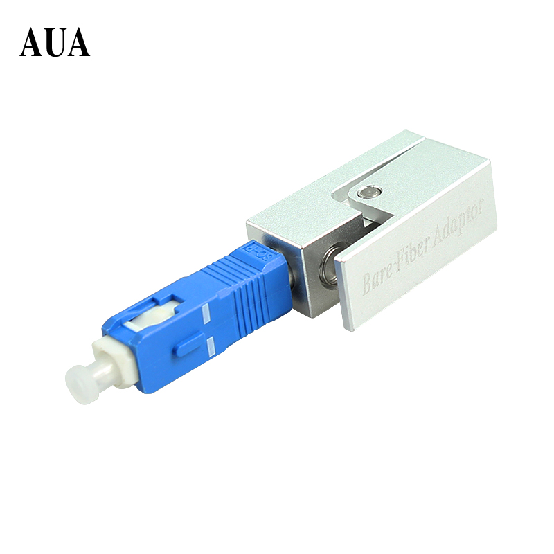 Free Shipping Fiber Flange Fiber Square Type SC Bare Fiber Adaptor SC Bare Fiber Adapter