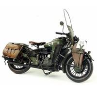 Vespa model motorcycle vintage 1942 US Army HALLEY WAL metal motorcycle toy 1:12 safe HALEY diecast vespa motor old collection