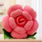 Decorative Pillow Cushions Plush Toy Home Pillow Decoration Patchwork Simulated Roses Valentine Wedding Gift