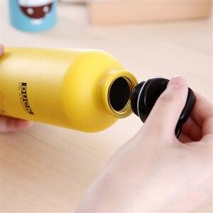 Image 3 - Botella de agua portátil para niños, botella de agua de 500ml con bonitos animales para deportes al aire libre, ciclismo, Camping, bicicleta y senderismo
