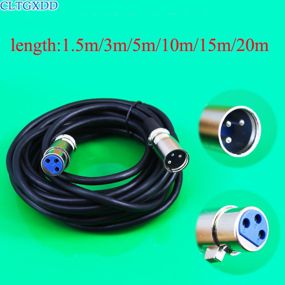 Detail Feedback Questions About Cltgxdd 3pin Xlr Male To Female Wiring Audio Extension Cable Stereo Cables Cord Wire Line For Mixer Amplifier Microphone
