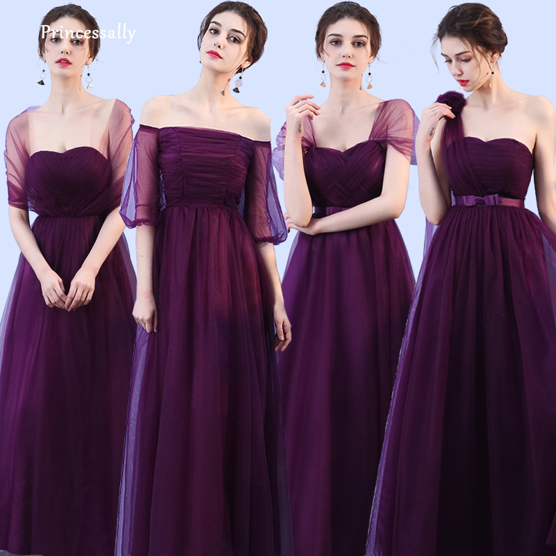 85756e9ad6ae Buy eggplant bridesmaid dresses and get free shipping on AliExpress.com