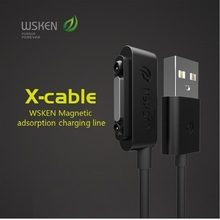 WSKEN X-cable Magnetic Charging Cable Original Easy Version Magnetic Cable For Sony Xperia Z1 Z2 Z3 Sync Data & Charging Cable