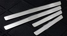 цена на stainless steel Side Door Sill Scuff Plate Trim For Mazda 6  Atenza 2009-2015