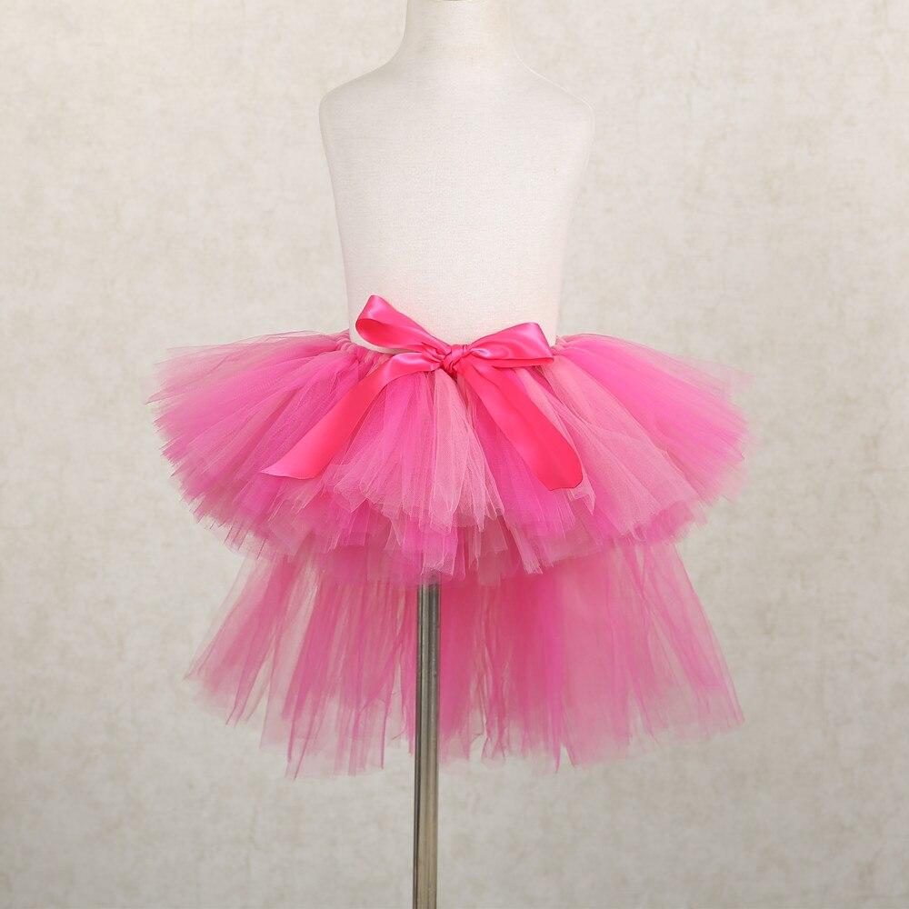7d296cb699 קנו בנות ' בגדים   Trailing Baby Girl Tutu Skirt Short Front Long ...