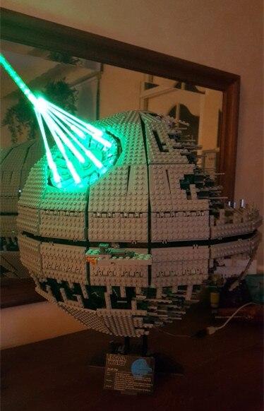 Julite Led Light Up Kit For Lego 10143 75159 10188 Compatible With