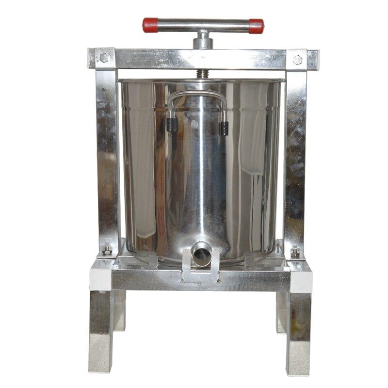 1 pc Manuale Completamente chiusa macchina della pressa di cera In Acciaio Inox di paraffina miele piedino macchina ceretta macchina Miele rolling mill