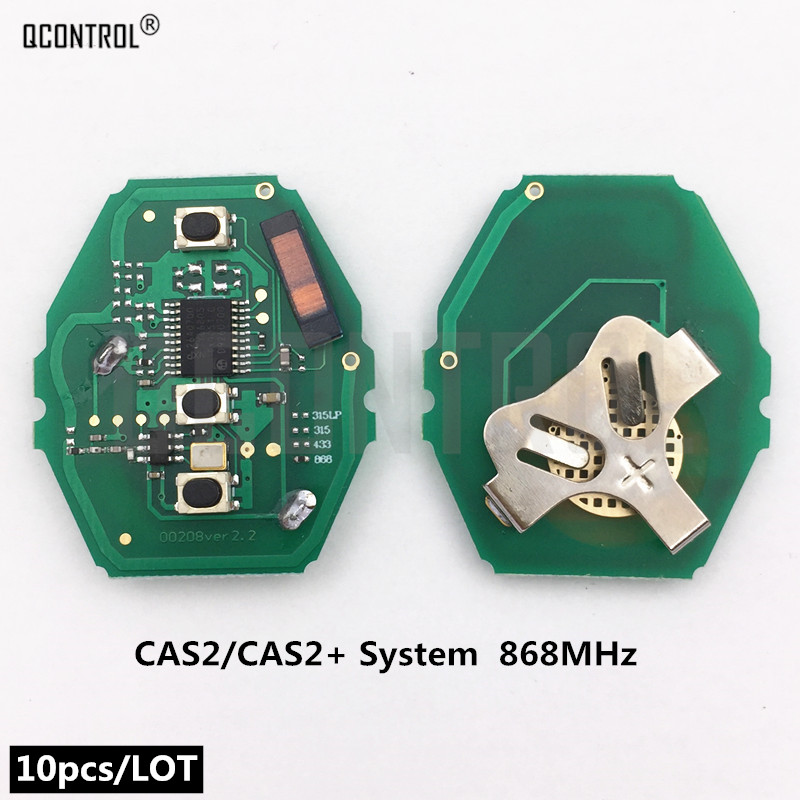 QCONTROL Car Remote Control Key Circuit Board for BMW 3/5 Series 868MHz with ID46-7945 Chip CAS2/CAS2+ System Transmitter FobQCONTROL Car Remote Control Key Circuit Board for BMW 3/5 Series 868MHz with ID46-7945 Chip CAS2/CAS2+ System Transmitter Fob