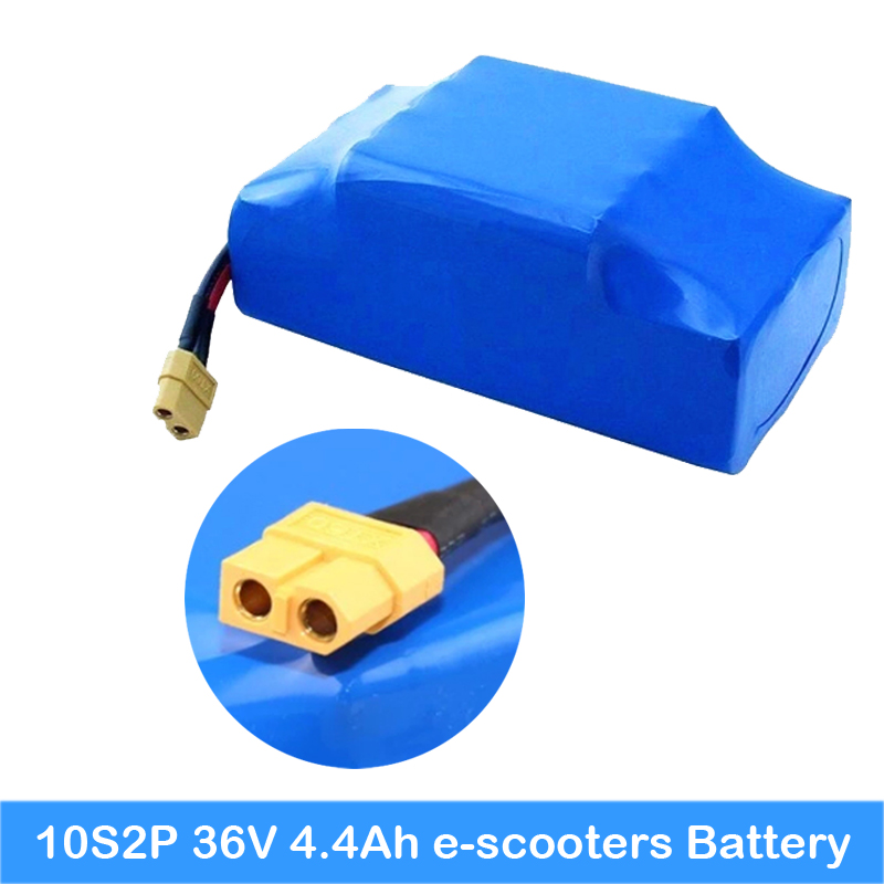 Scooter 10S2P 20 pcs batterie à l'intérieur avec PCB batterie au lithium Scooter batterie 36 v 4.4ah batterie Smart Hoverboard/Scooter 2 roues