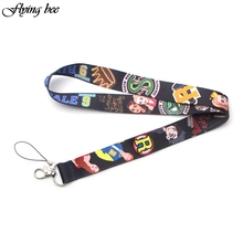 Flyingbee Riverdale Charming Lanyard Phone Rope Keychains Phone Lanyard for Keys ID Card Cartoon Lanyards For Men Women X0102