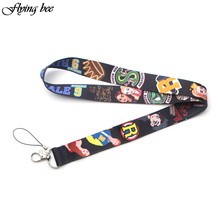 Flyingbee Riverdale Charming Lanyard Phone Rope Keychains Phone Lanyard for Keys ID Card Cartoon Lanyards For Men Women X0102(China)