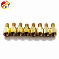 M3 10mm 6mm Copper Pillar Robot Accessory Chassis Wheel Connector Diy Rc Electronic Toy Development Kit
