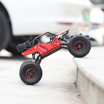 New Arrivel RC Car 1:18 4WD 2.4GHz LH-C008 Remote Control Crawler Mini Off Road Car Speed Rock Rover Toys For Kids Xmas Gift