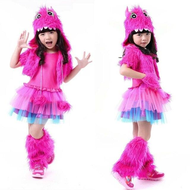 Free Shipping Hot Pink Plush Furry Monster Costume Set Hood Leg warmer Girl Cosplay Apparel Halloween  sc 1 st  AliExpress.com & Free Shipping Hot Pink Plush Furry Monster Costume Set Hood Leg ...
