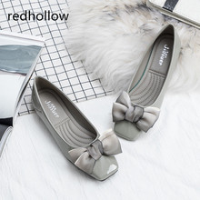 купить Women Flats Butterfly-knot Lovely Ballet Flats Slip On Spring Summer Women Casual Shoes Loafers Fashion Ladies Flat Shoes Female дешево