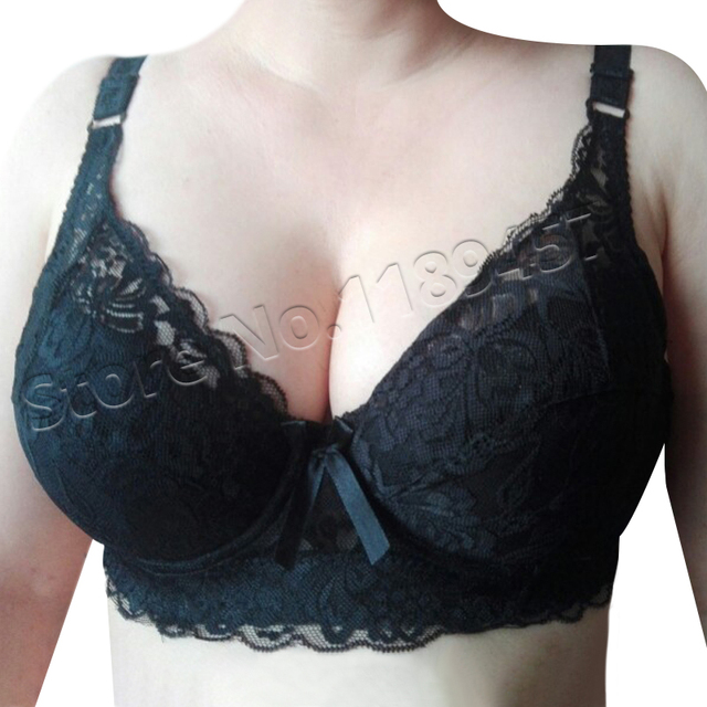 Plus Size Wireless Lace Bra