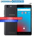 Original DOOGEE X5 мобильных телефонов 5.0 InchHD 1 ГБ RAM + 8 ГБ MT6580 ROM Android 5.1 Dual SIM Quad Core 1.0 ГГц 2400 мАч WCDMA WIFI