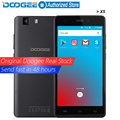 Original doogee x5 teléfonos móviles 5.0 inchhd 1 gb ram + 8 gb rom android 5.1 dual sim mt6580 quad core 1.0 ghz 2400 mah wcdma wifi