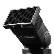Рассеиватель Softbox HC-01 соты сетка фильтр для Canon Nikon Pentax Speedlite фотографии TT680 TT660 TT560 TT520