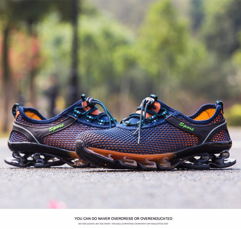Super Cool breathable running shoes men sneakers bounce summer outdoor sport shoes Professional Training shoes plus size 22