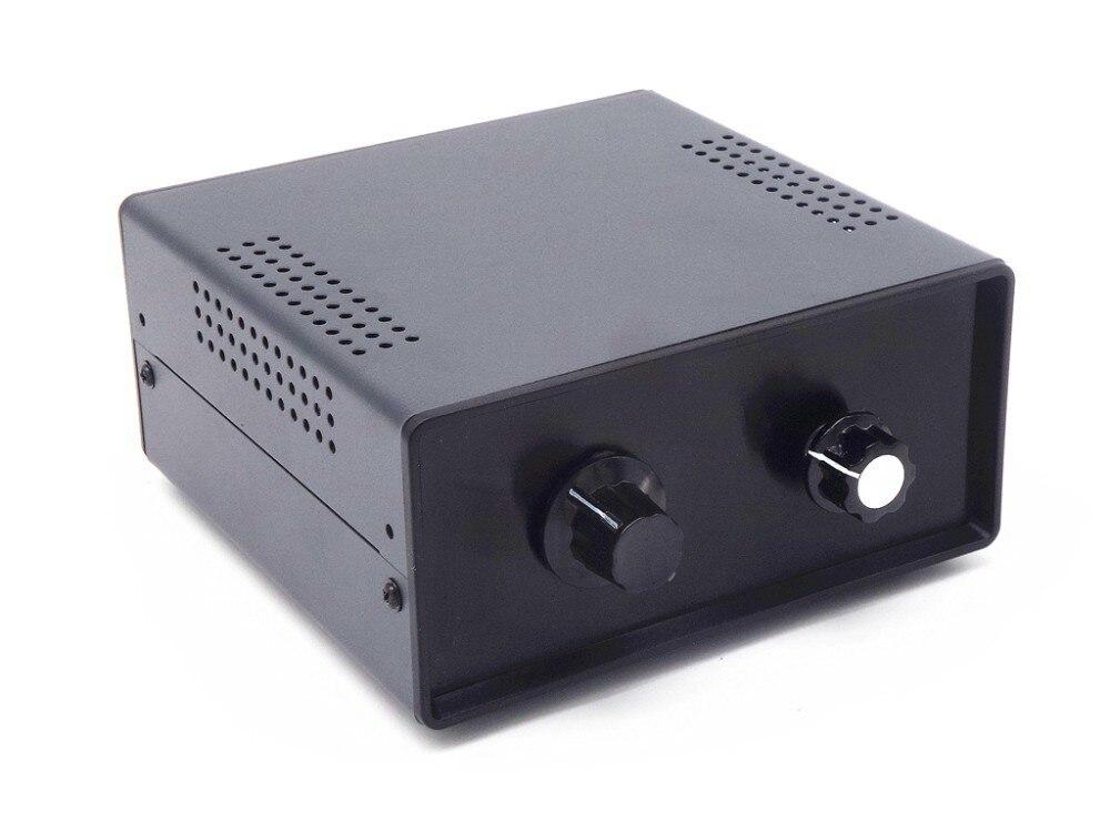 WY62 Passiva preamplifier 6 RCA de áudio Estéreo-IN-2-OUT Divisor de Entrada de Sinal de Áudio/Switcher/ com um conjunto de controles de volume