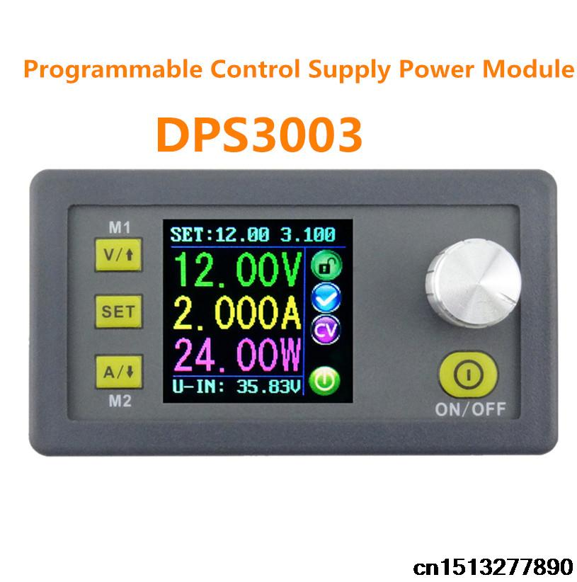 цена на New DPS3003 LCD Constant Voltage volt current Step-down Programmable control Supply Power module converter DP30V3A Upgraded 20%