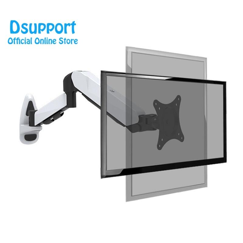 Aluminum 360 Degree Full Motion Height Adjustable 15 27 LCD LED TV Wall Mount Monitor Holder