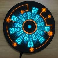 Świątyni elementy bezprzewodowa ładowarka Sheikah łupek ładowarka do telefonu obręcz magic circle ładowarka 10 W szybkie ładowanie przez SINGULAB w Ładowarki od Elektronika użytkowa na