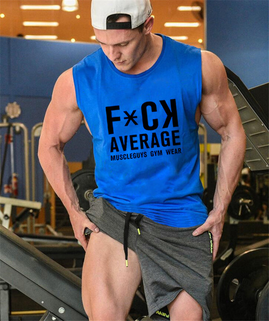 Sleeveless Workout Tops for Men