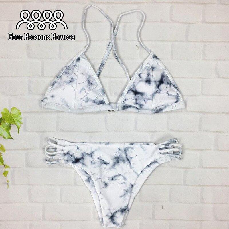 Brazilian Style Bikini Push Up Big BREAST CUP Swimsuit Swimwear Female Bikinis Set Pants Side C420