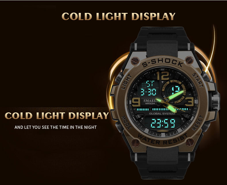3.military watches army men`s wristwatch