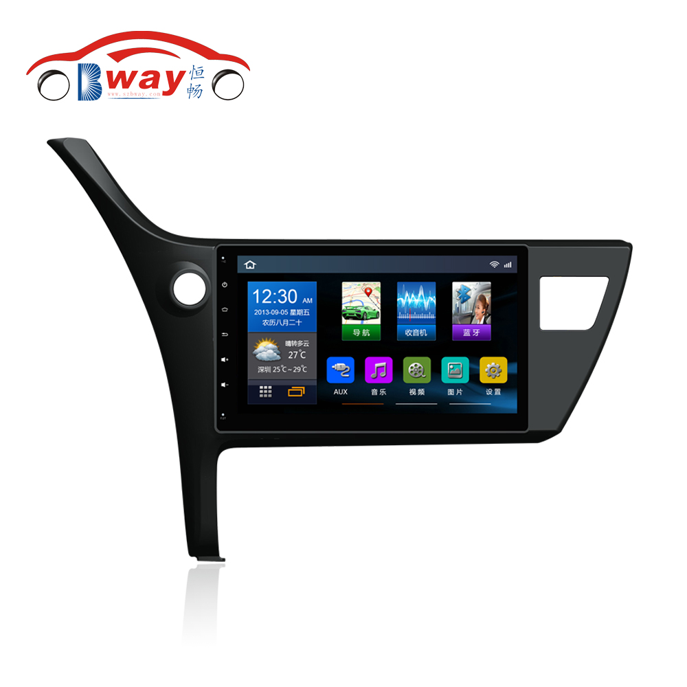 free shipping 10 2 car radio for toyota corolla 2017 android 6 0 1 car dvd player with. Black Bedroom Furniture Sets. Home Design Ideas