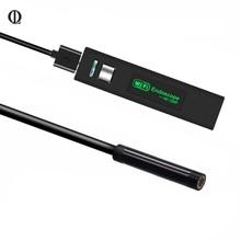 2/5/10 m mini WiFi endoscopio micro cámara HD 1080 p WiFi del endoscopio USB borescope cámara de vídeo inspección para Android/ios/Ventanas