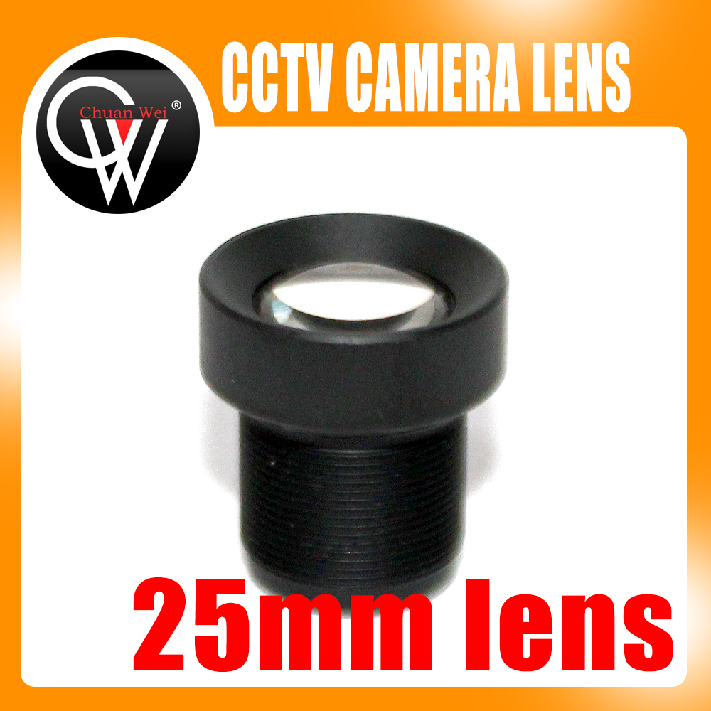 25mm Lens CCTV Board MTV Lens,M12*0.5, Wide Viewing Angle 12degree, Suitable For 1/3