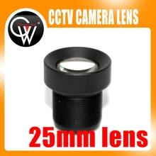 25mm lens CCTV Board MTV lens,M12*0.5, wide viewing angle 12degree, suitable for 1/3″ & 1/4″ cctv camera sensor