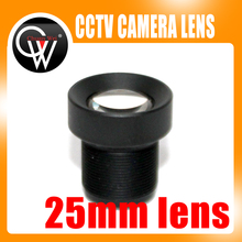 25mm lens CCTV Board MTV lens,M12*0.5, wide viewing angle 12degree, suitable for 1/3″ & 1/4″ cctv camera sensor