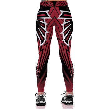 Unisex Football Team Falcons Print Tight Pants Workout Gym Training Running Yoga Sport Fitness Exercise Leggings Dropshipping 1