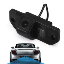 Câmera de visão traseira à prova d' água, câmera de estacionamento reversa com ângulo aberto 170 graus para ford focus 2 sedan 2005-2011 c-max