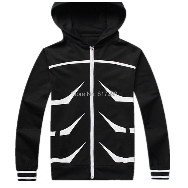 Tokyo Ghoul hooded jacket long sleeve Coat mens hoodies and sweatshirts women clothes anime cosplay costume autumn winter Jacket