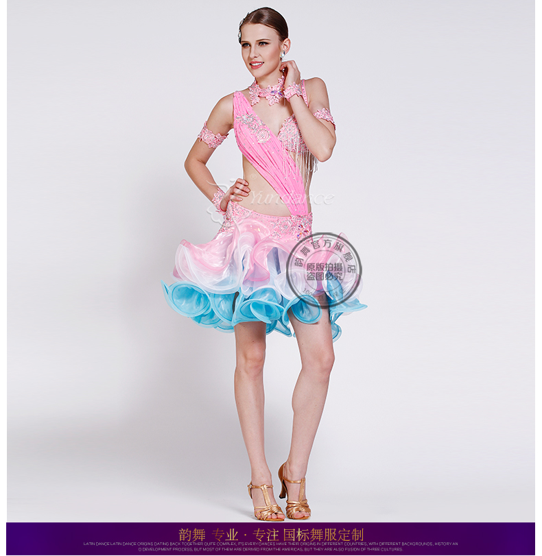 Buy pink salsa competition dresses women and get free shipping on  AliExpress.com 8d1e51074d38