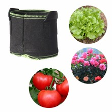5 pcs 40cm x 30cm or 50cm x 40cm Vegetables Flowers Potatoes Cultivation Grow bags Home Garden Balcony Farm Agriculture Supplies