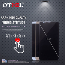 6.0 OTMIL For HUAWEI Mate 7 LCD Display Touch Screen with Frame Digitizer Mate7 MT7-L09 MT7-CL00 LCD#1