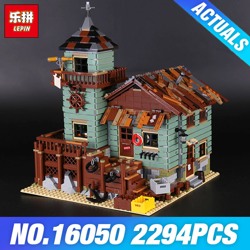 Lepin 16050 The Old Finishing Store Set Genuine 2294Pcs MOC Series21310 Building Blocks Bricks Educational DIY Toys Child'sGifts lepin 16050 the old finishing store set moc series 21310 building blocks bricks educational children diy toys christmas gift