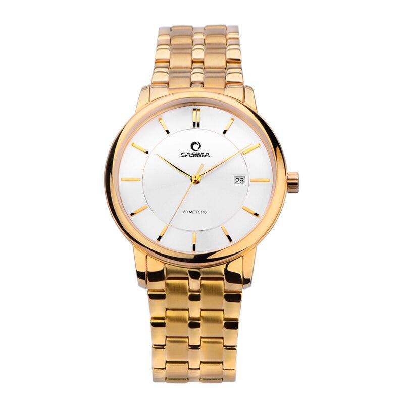 все цены на luxury brand watches women dress leisure watch fashion quartz wrist watch women waterproof 50m Wrist watches CASIMA #5130 онлайн
