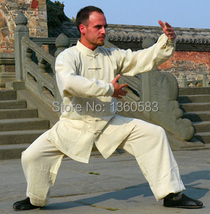 Linen Tai chi clothing anti-crease kung fu uniforms men and women Wushu wudang Martial arts Clothes free shipping 2016 chinese tang kung fu wing chun uniform tai chi clothing costume cotton breathable fitted clothes a type of bruce lee suit