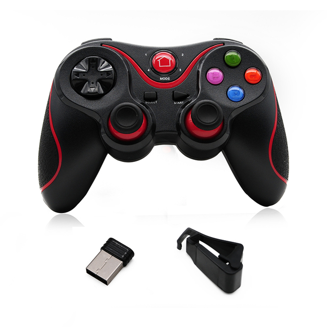 T3 Wireless Joystick Smart Phone Game Controller Bluetooth 3.0 Android Gamepad Gaming Remote Control for PC Phone Table