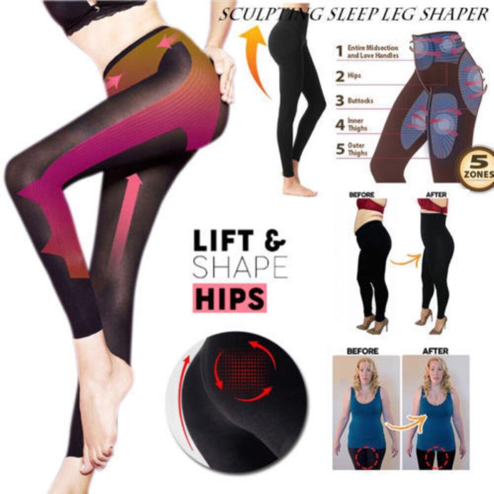 Patung Tidur Kaki Pembentuk Alat Wanita Pelangsing Pembentuk Baru Seksi Celana Legging Kaus Kaki Alat Kecantikan Dropship Aliexpress