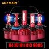 Auxmart SMD G9 Car LED Headlight Kit H4 H7 H11 H13 9005 HB3 9006 HB4 LED