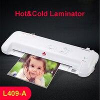 A4 фото ламинатор бумажная пленка документ Термальность горячей и холодной ламинатор A4 Plastificadora Termolaminar Plastifieuse ламинатор L409-A